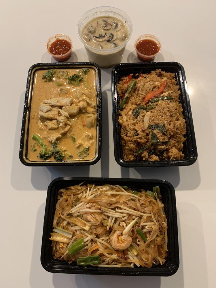 Food from Lanta Thai Fusion