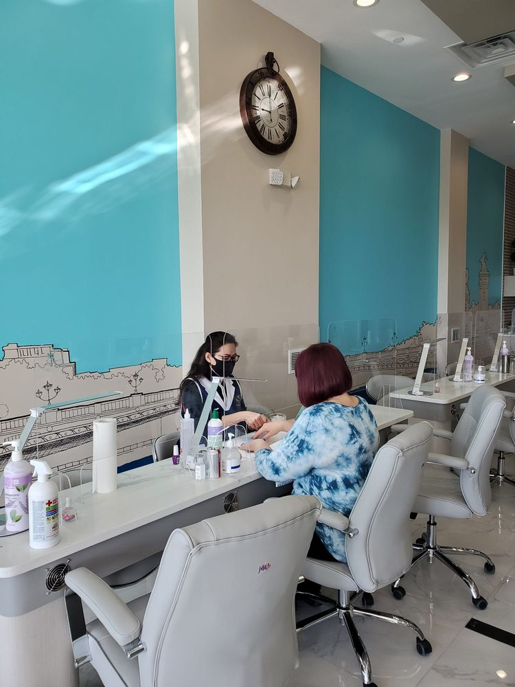 Nails At Tiffany's Ashburn: 19945 Riverside Commons Plz, Ashburn, VA
