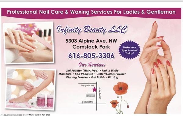 Infinity Beauty 5303 Alpine Ave NW Comstock Park, MI Hair