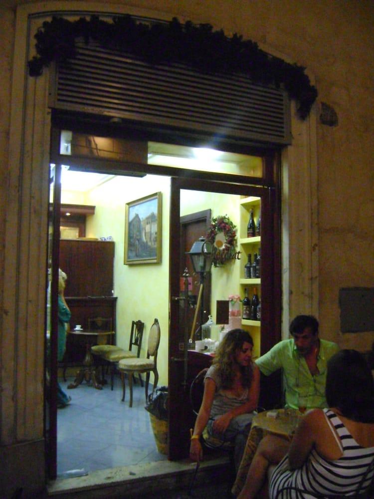 Chocolat caff via della dogana vecchia 12 centro for La vecchia roma ristorante roma
