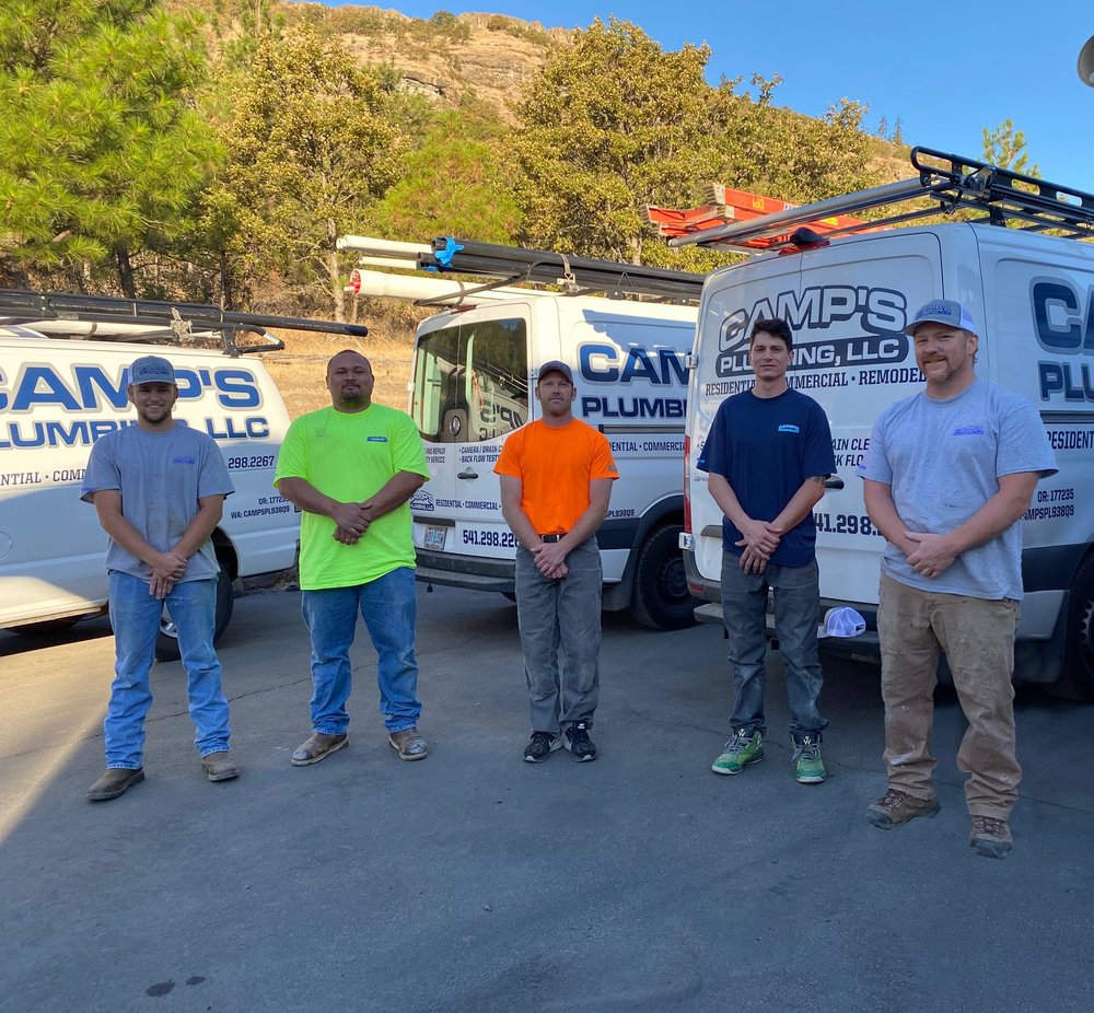 Camp's Plumbing: 1440 Sterling Ct, The Dalles, OR