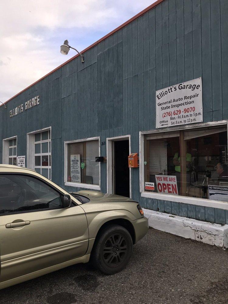 Elliott's Garage: 2610 Fairystone Park Hwy, Bassett, VA