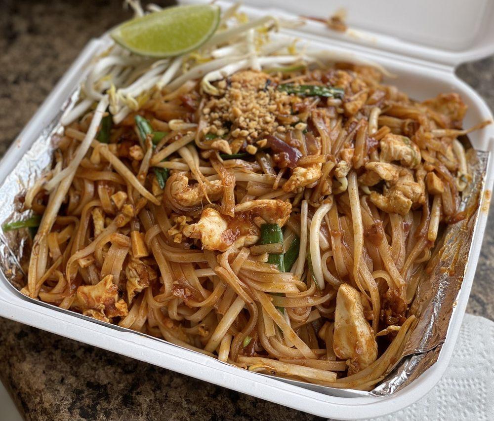 Food from ThaiYada Restaurant