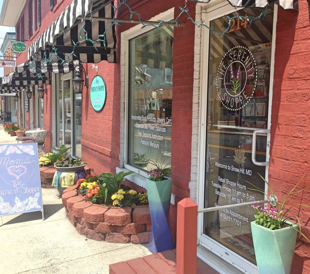 The Serenity Shoppe: 214 N Washington St, Snow Hill, MD
