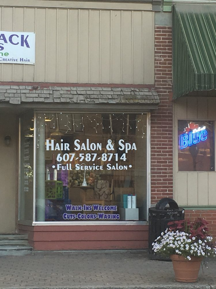 Alfred Hair & Tanning Center: 23 N Main St, Alfred, NY