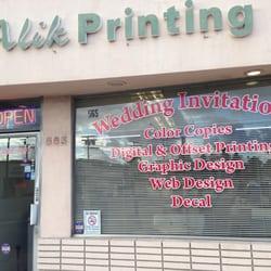 Alik Printing Publishing 29 Reviews Printing Services 565 W