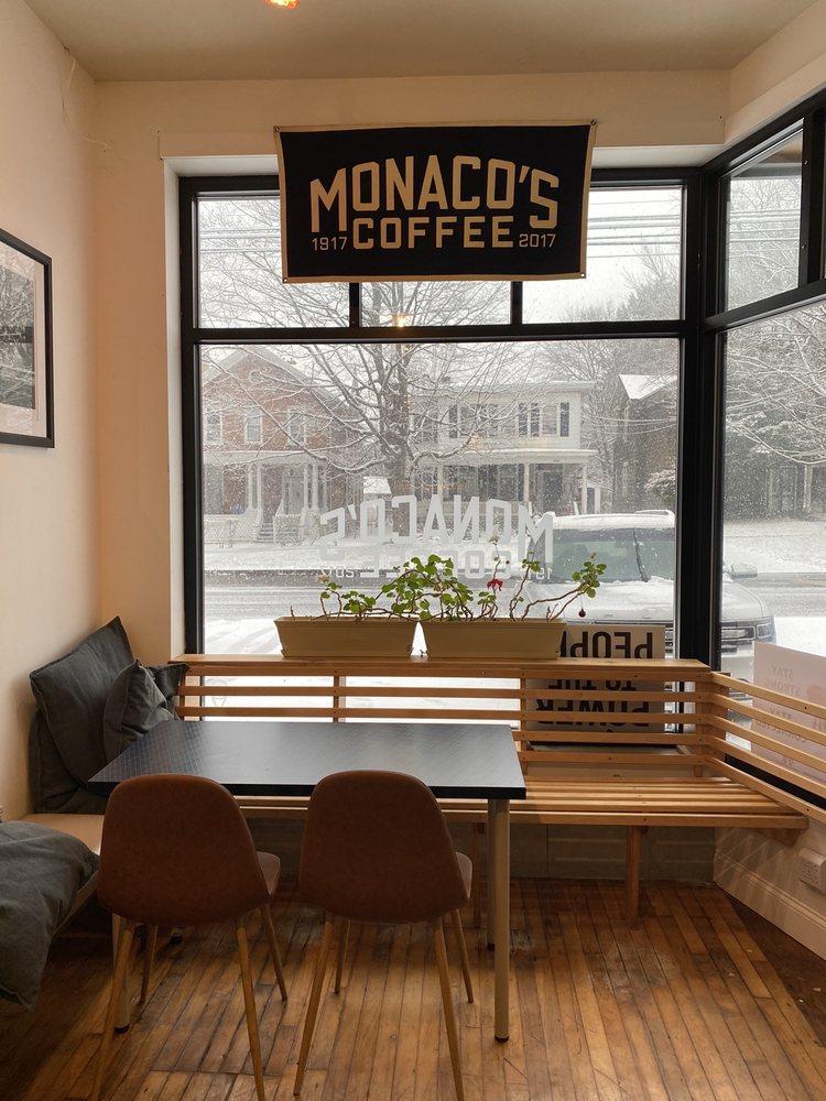 Monaco's Coffee: 115 Washington St, Geneva, NY
