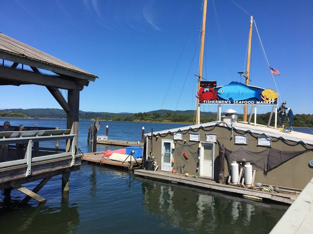 Fishermen's Seafood Market: 200 S Bayshore Dr, Coos Bay, OR