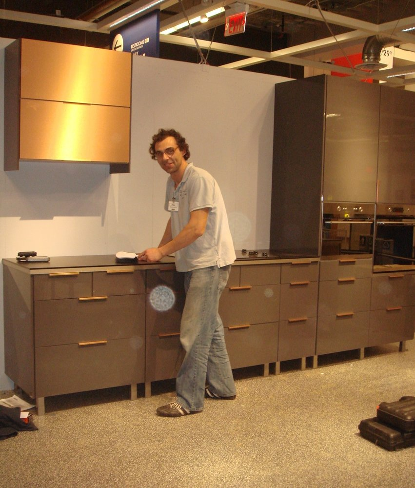 Installed Ikea kitchen front store display for Orlando Ikea - Yelp