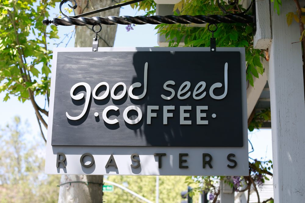 Good Seed Coffee: 1607 Mission Dr, Solvang, CA