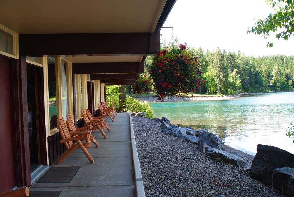 Swiftcurrent motor inn hotels west glacier mt for Rising sun motor inn cabins