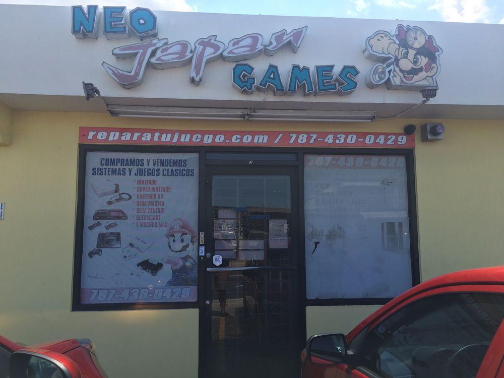 Neo Japan Video & Games: Calle Nogal, Bayamón, PR