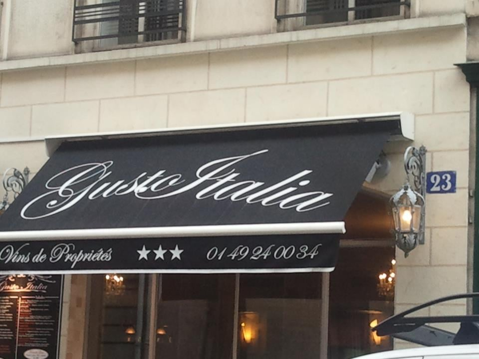 Gusto italia french 23 rue pasquier saint lazare grands magasins paris france - Restaurant saint lazare paris ...