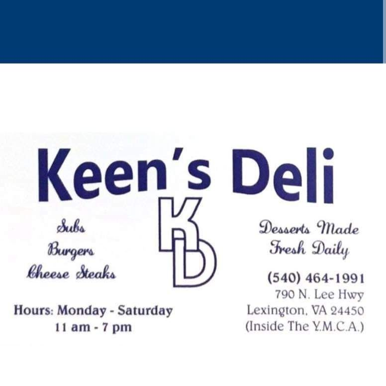 Food from Keen's Deli