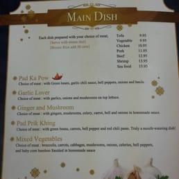 Photos For Chon Ngern Thai Restaurant Menu Yelp