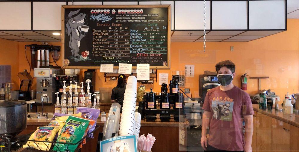 Bad Ass Coffee of Hawaii: 90 Mark West Springs Rd, Santa Rosa, CA