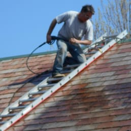 Photo Of Vermont Roof Cleaners   Colchester, VT, United States. We Clean  Slate