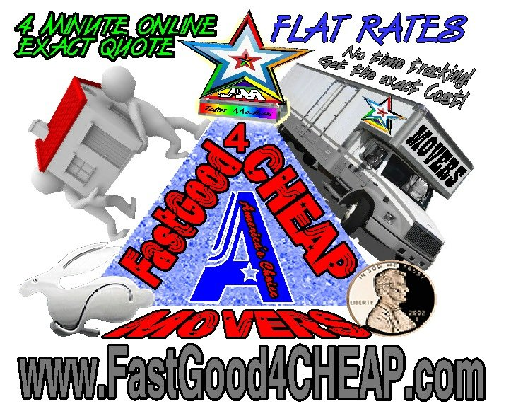 Fastgood4cheap Moving Services - America's Choice Business Group: 1790 Shiloh Springs Rd, Dayton, OH