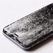 how to fix cracked iphone screen protector