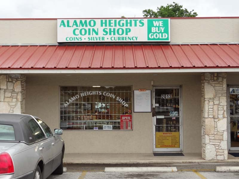 alamo coin shop