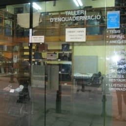 Tarlatana material de oficina carrer de la comtessa de for Oficina ups barcelona