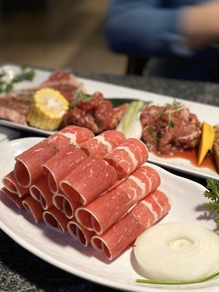 Food from GOGi 1055 Korean BBQ