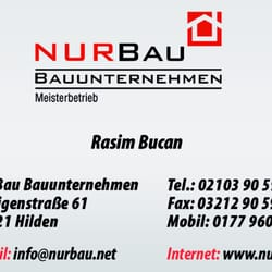 Nur Bauunternehmung - Contractors - Heiligenstr  61, Hilden