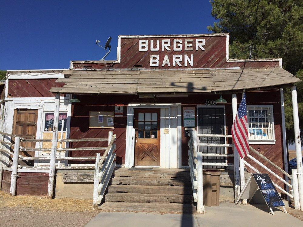 Burger Barn: 4905 Perkins Rd, New Cuyama, CA