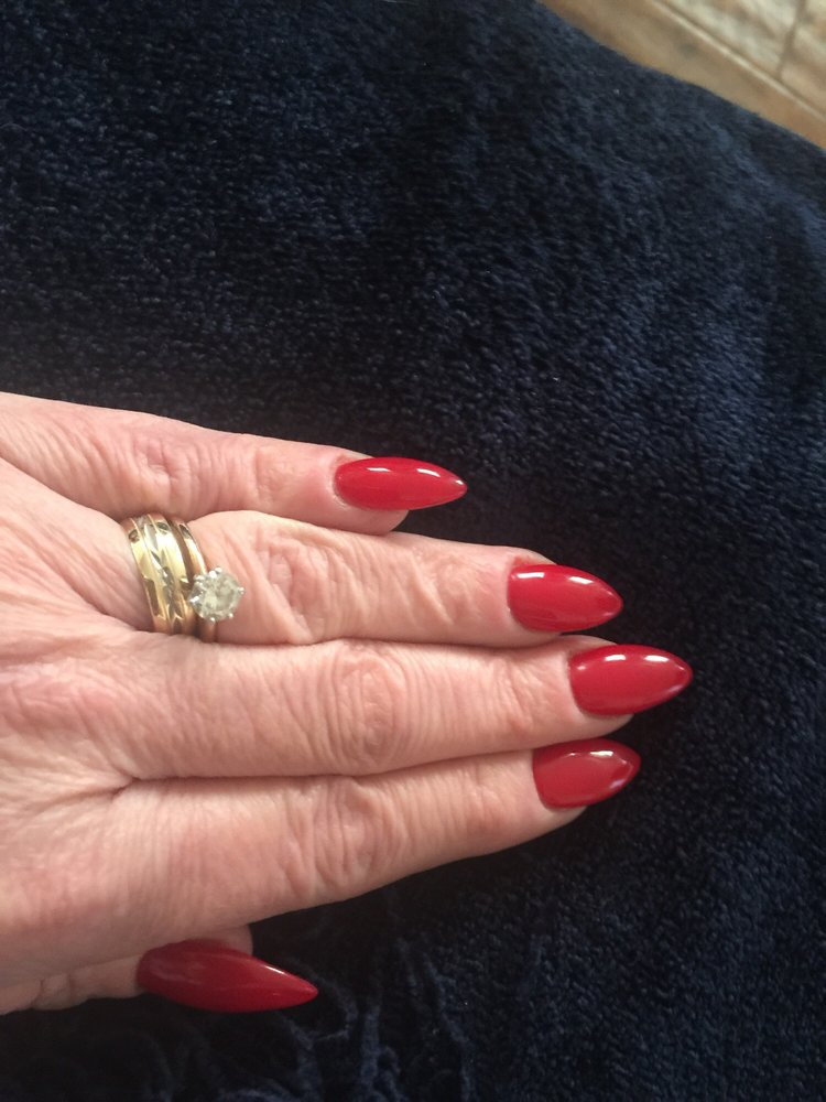 New nail style by Melti who is the best nail tech I have ever been ...