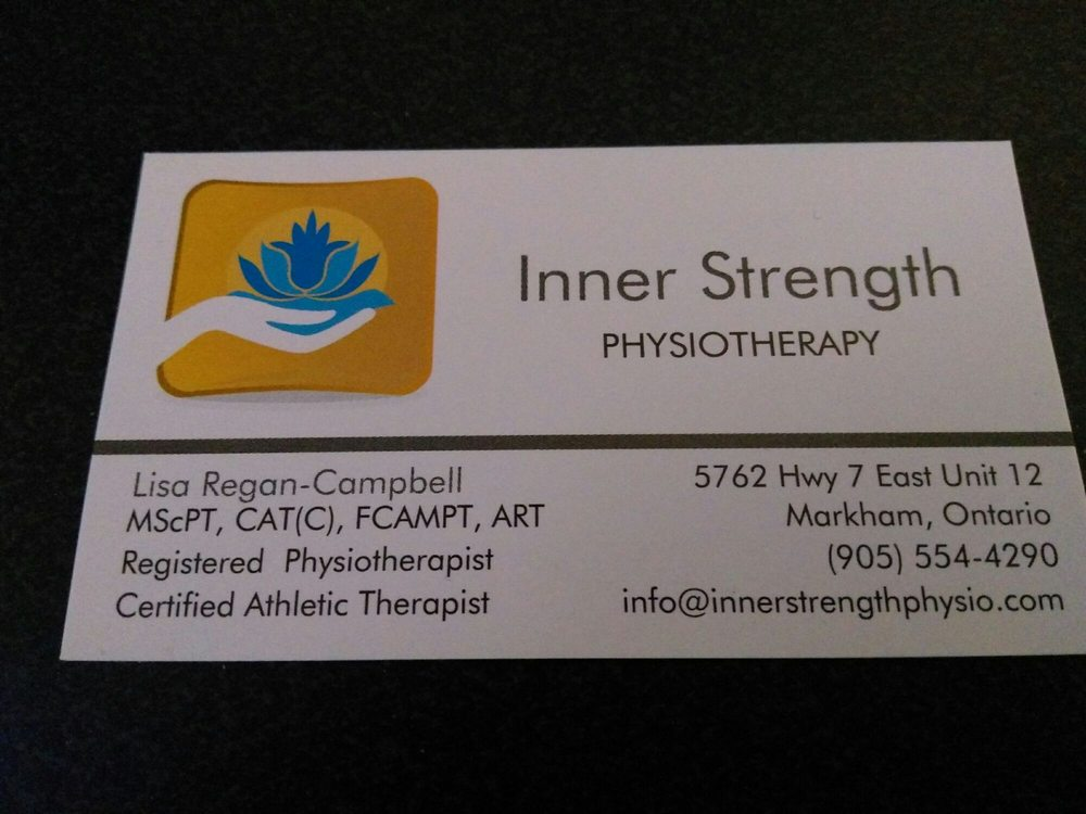 Inner Strength Physiotherapy - Physical Therapy - 5762 Highway 7 ...