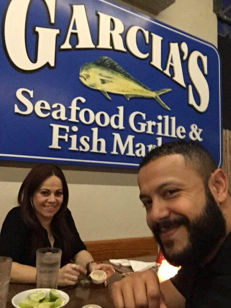 Yummy the best dolphin sandwich ever yelp for Garcia s seafood grille fish market