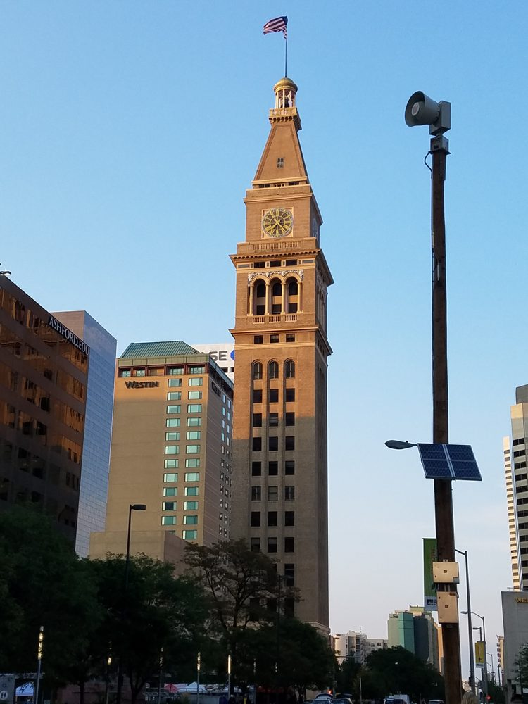 Daniels and Fisher Tower: 1601 Arapahoe, Denver, CO