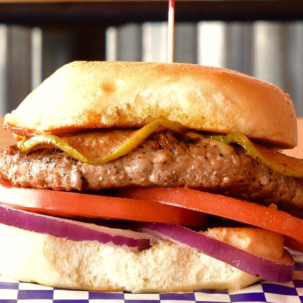 Burger Nation: 1400 Nasa Pkwy, Houston, TX