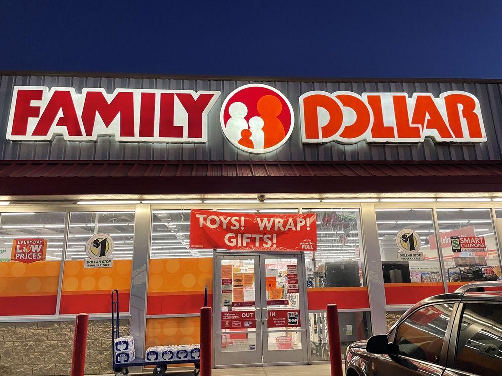 Family Dollar: 66952 Hope Ln, Salome, AZ