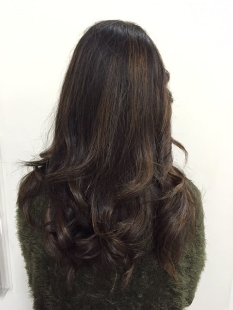 Highlight obmre done by cindy yelp for 1500 salon alameda