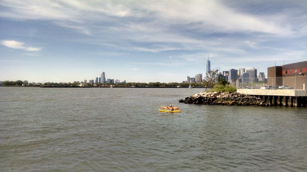 Photo of Louis Valentino Jr Park & Pier - Brooklyn, NY, United States. Pier views cover Verrazano Bridge to FiDi/WTC