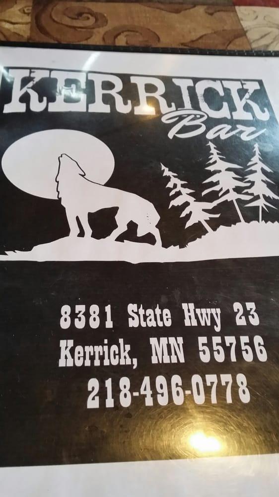 Kerrick Bar: 8381 State Hwy 23, Kerrick, MN