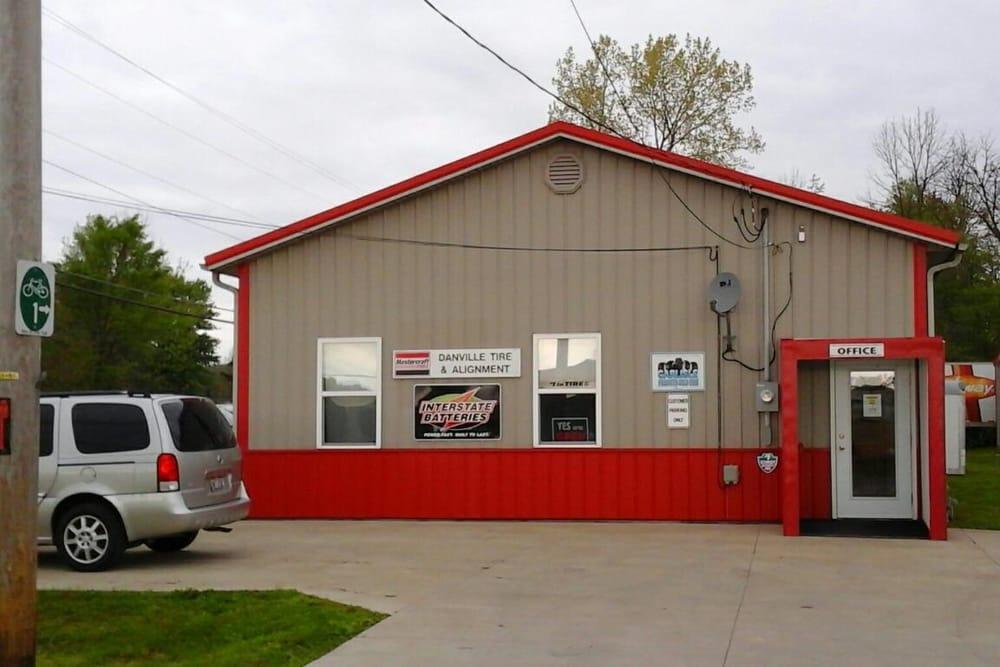 Danville Tire & Alignment: 23 W Washington St, Danville, OH