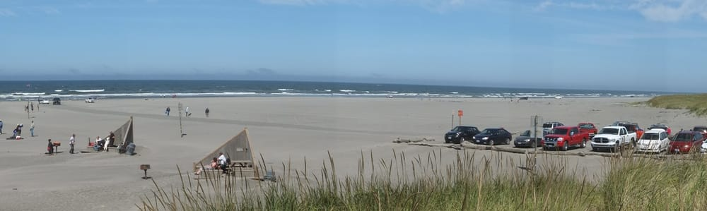 At Long Beach Wa The Longest Drivable Beach In The Us At