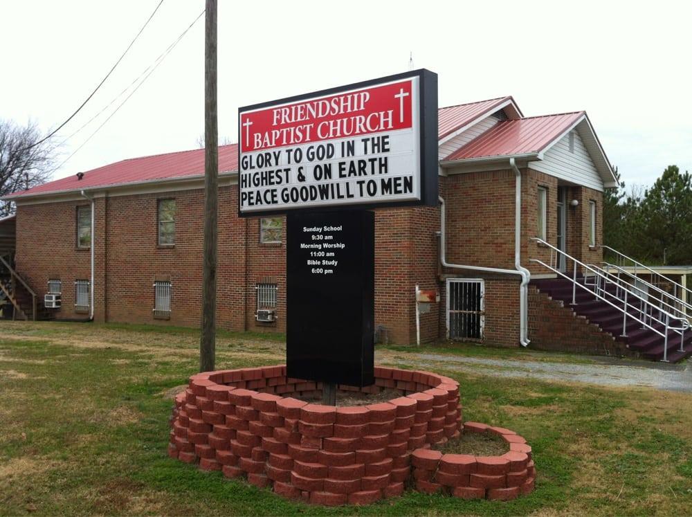 Friendship Baptist Church: 709 3rd St NW, Attalla, AL