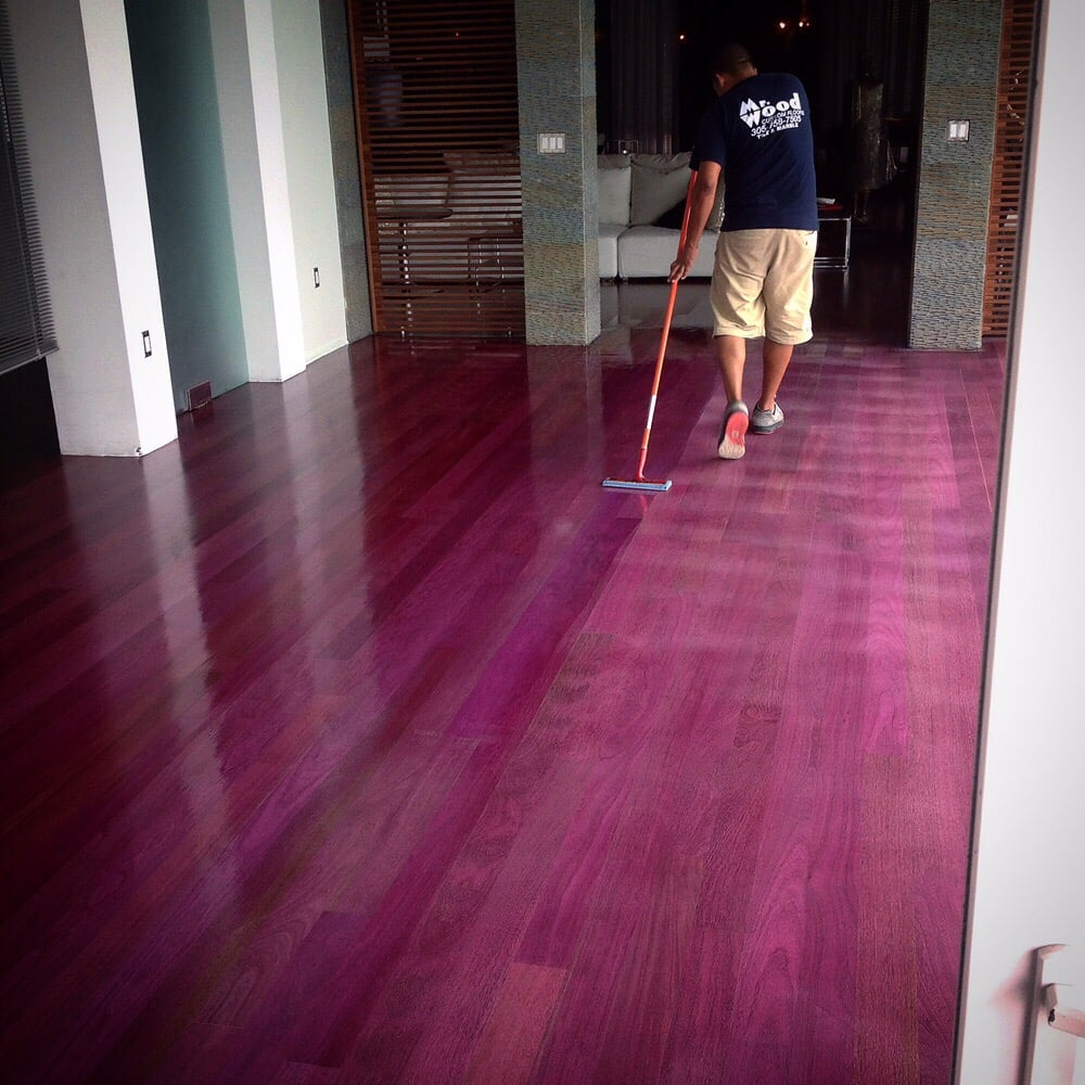 Purple Heart Wood Flooring Home Design
