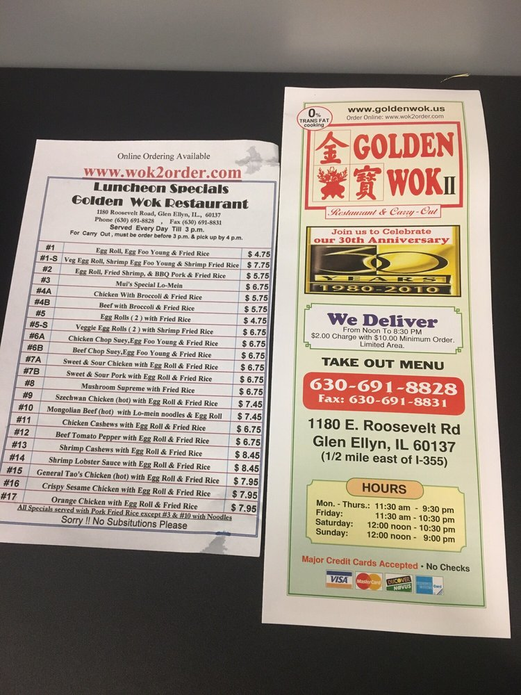 Photos for golden wok chinese restaurant yelp for Asian cuisine grimes ia menu