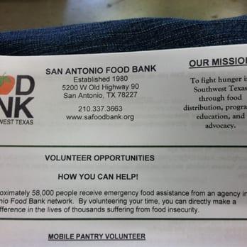 San Antonio Food Bank 36 Photos 14 Reviews Food Banks 5200