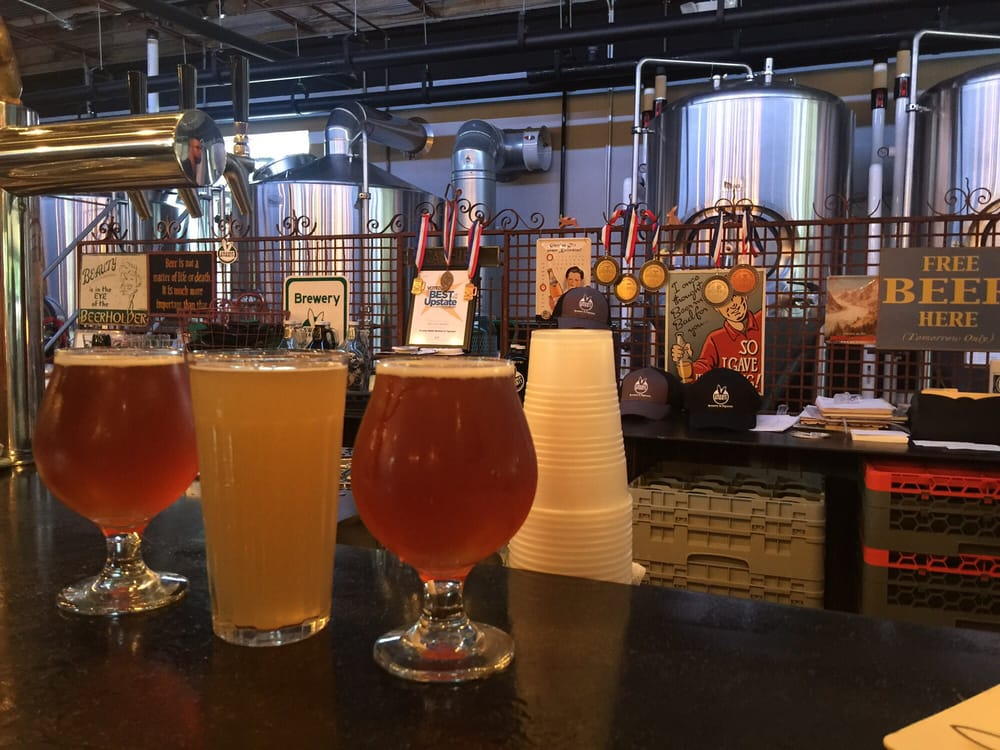 Swamp Rabbit Brewery and Taproom: 26 S Main St, Travelers Rest, SC