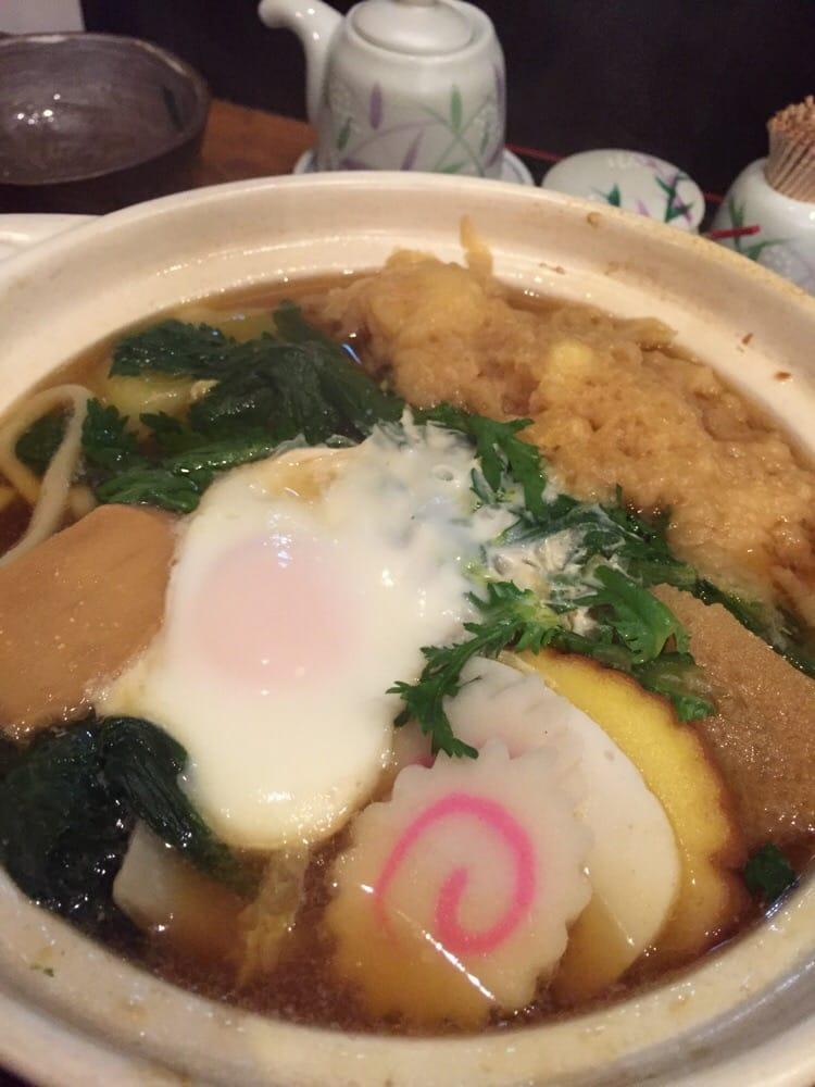 Photo of ささい - 武蔵野市, 東京都, Japan. 特製鍋焼きうどん。