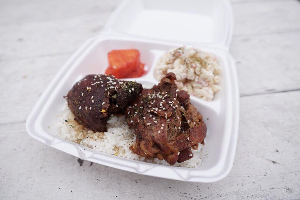 Food from Hawai'i Nei cafe