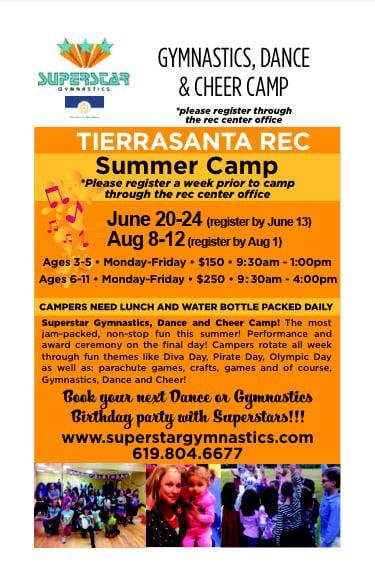 Superstar Gymnastics and Dance: San Diego, CA