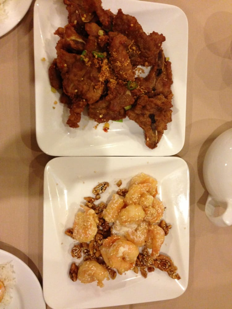 Garlic and pepper pork chops honey walnut shrimp yelp for Asian cuisine las vegas