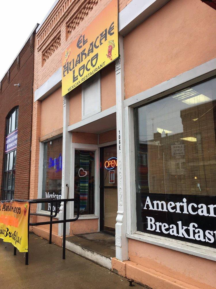 El Huarache Loco: 106 E Rochester St, Akron, IN