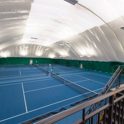 Photo Of Wessen Indoor Tennis Club   Pontiac, MI, United States. Six Indoor